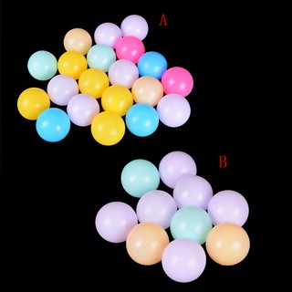 10Pcs Plastic Ocean Ball 60mm Safty Secure Baby Kid Pit Toys Swim