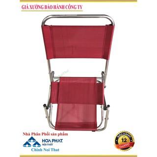 {BẢO HÀNH 12 THÁNG} Ghế xếp lưng thấp màu đỏ GXITL3DD {Bền – Rẻ – Đẹp Cty Chinhnoithat}