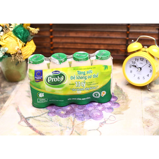 Sữa chua uống có đường Probi Vinamilk lốc 4 chai x 130ml - 2514664 , 647564103 , 322_647564103 , 42000 , Sua-chua-uong-co-duong-Probi-Vinamilk-loc-4-chai-x-130ml-322_647564103 , shopee.vn , Sữa chua uống có đường Probi Vinamilk lốc 4 chai x 130ml