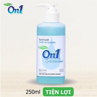 Nước rửa tay sạch khuẩn On1 250ml hương Lotus Rice - RT250-1