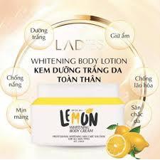 [CHÍNH HÃNG 💯%] Body Lemon Chanh Siêu Trắng Mịn Da Qlady