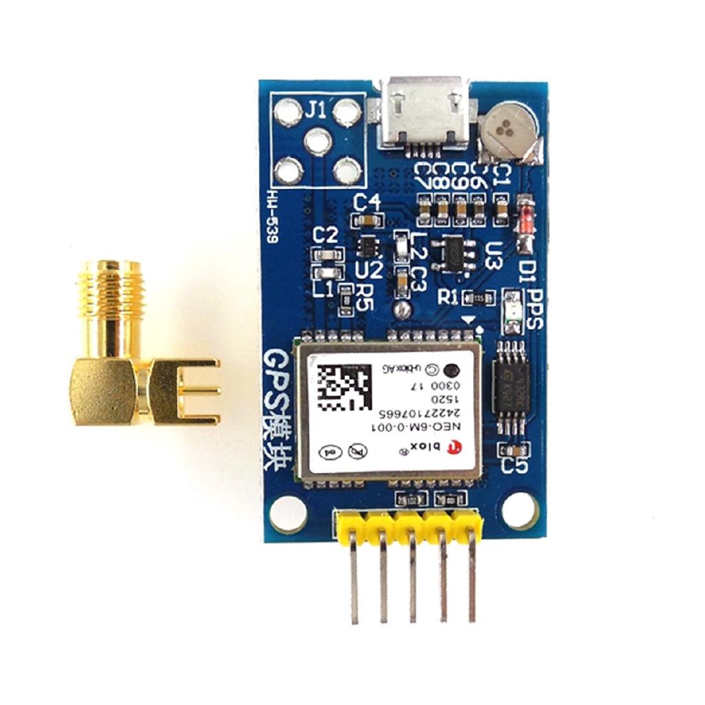Mô Đun Định Vị Gps Neo-7M Ublox Cho Arduino