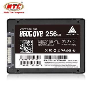 Ổ cứng SSD VSPTECH 860G QVE dung lượng 256GB - tốc độ ghi 430MB s đọc 500MB s (Đen) thumbnail
