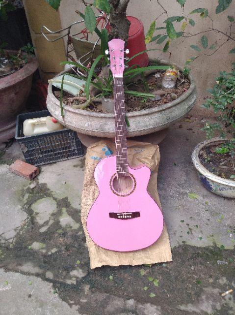 Guitar Acoustic có ty full phụ kiện