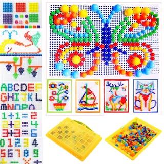 Đồ chơi ghép hạt nhựa Creative Mosaic (290 hạt)