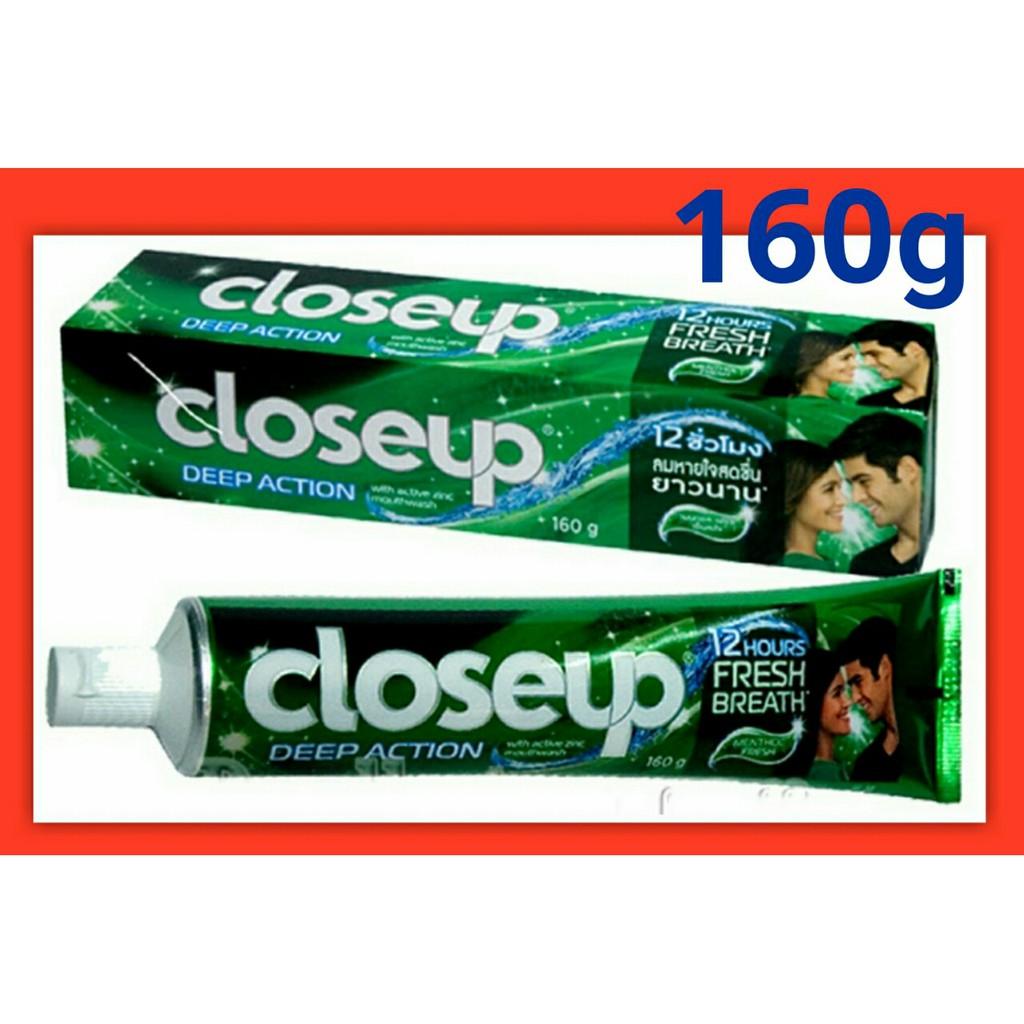 Kem Đánh Răng Closeup Thái 160g