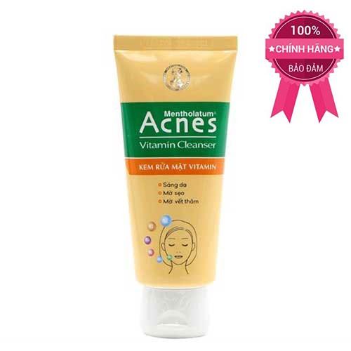 Kem rửa mặt sáng da mờ sẹo và vết thâm Acnes Vitamin Cleanser 100g - 3028123 , 386066309 , 322_386066309 , 50000 , Kem-rua-mat-sang-da-mo-seo-va-vet-tham-Acnes-Vitamin-Cleanser-100g-322_386066309 , shopee.vn , Kem rửa mặt sáng da mờ sẹo và vết thâm Acnes Vitamin Cleanser 100g