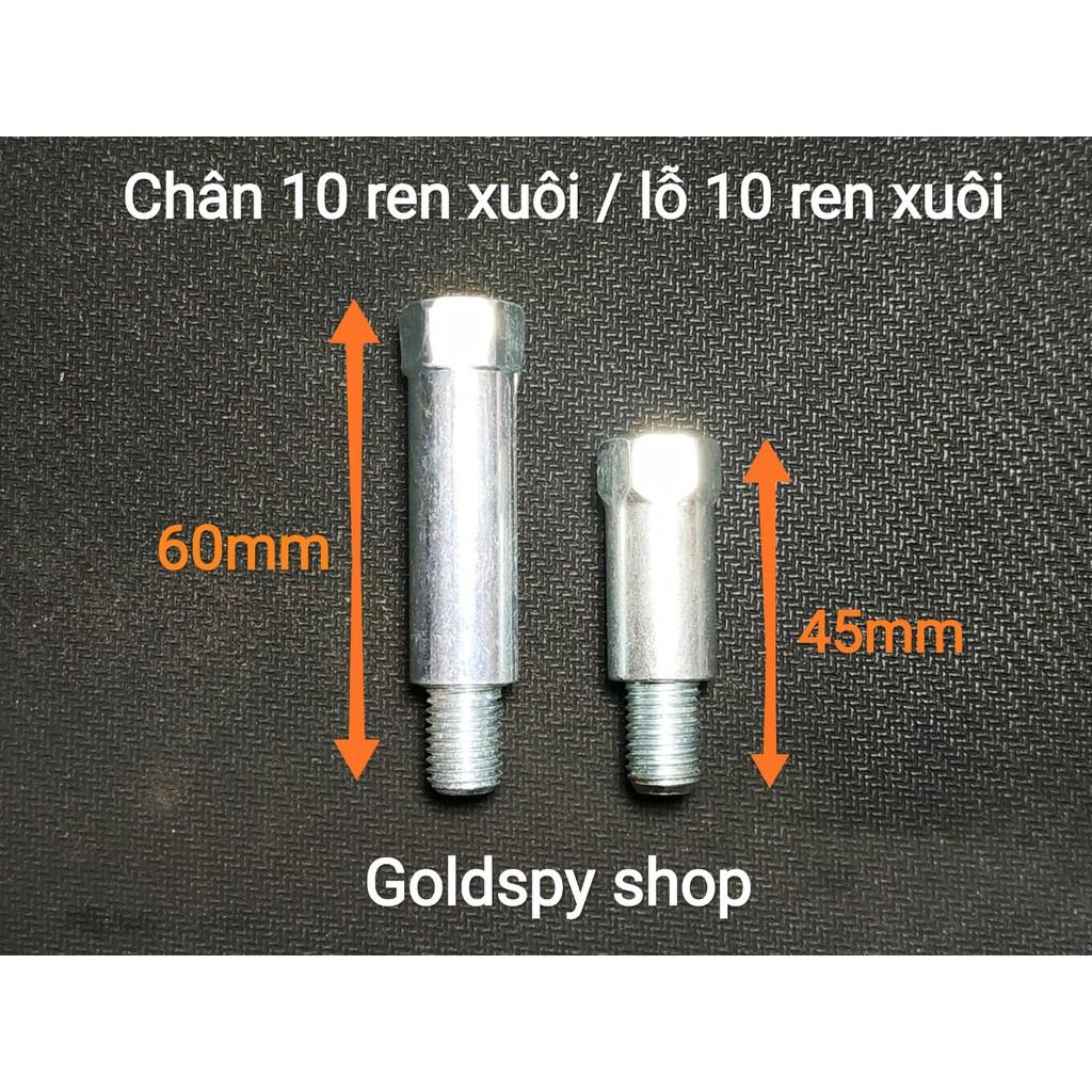 Ốc nối chuyển ren chân gương loại dài ( giá 1 chiếc)