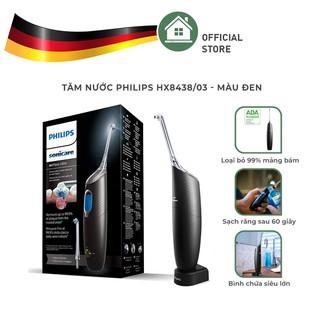Tăm Nước Philips HX8438 03 - Màu Đen - Nhập Khẩu Từ Đức thumbnail