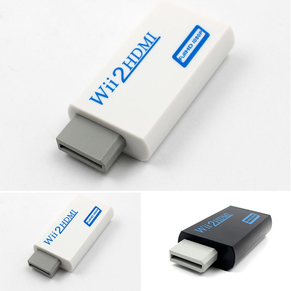 BLM❤Wii to HDMI Full 1080P HD Adapter Converter 3.5mm Audio Output