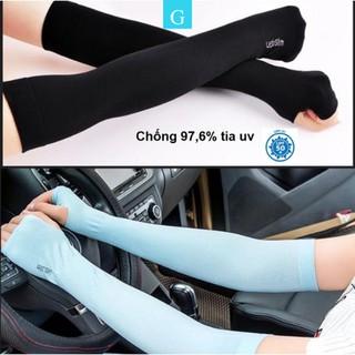 Găng bao ống tay chống nắng dài nam nữ chống tia UV Hàn Quốc Let s Slim thumbnail