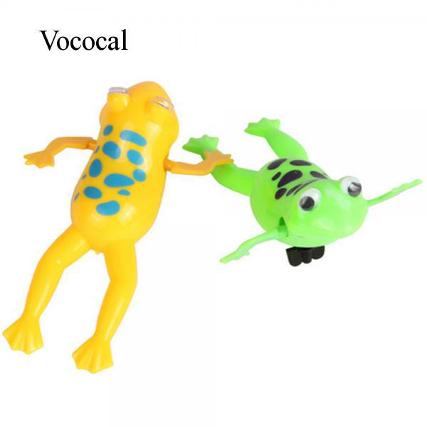 #Readystock 2 Pcs Cartoon Frog Style Baby Bathing Toy