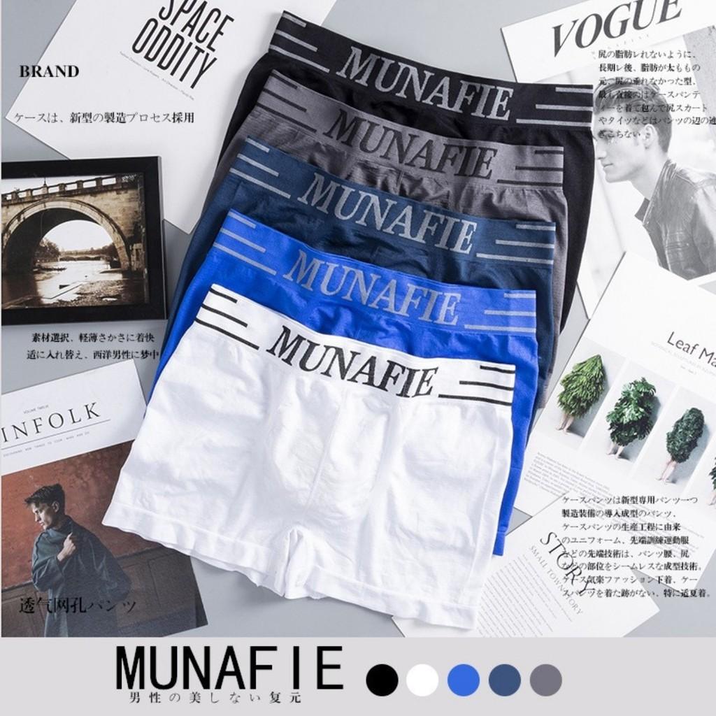 Quần Sịp Nam Munafie Cao Cấp ( có túi zip ) XOSO QLN02