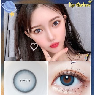 (20.DEC.1)XYHLAN Series,TINA Brand,14.2mm,(Grade 0-8.00), Contact Lens yearly use(blue)
