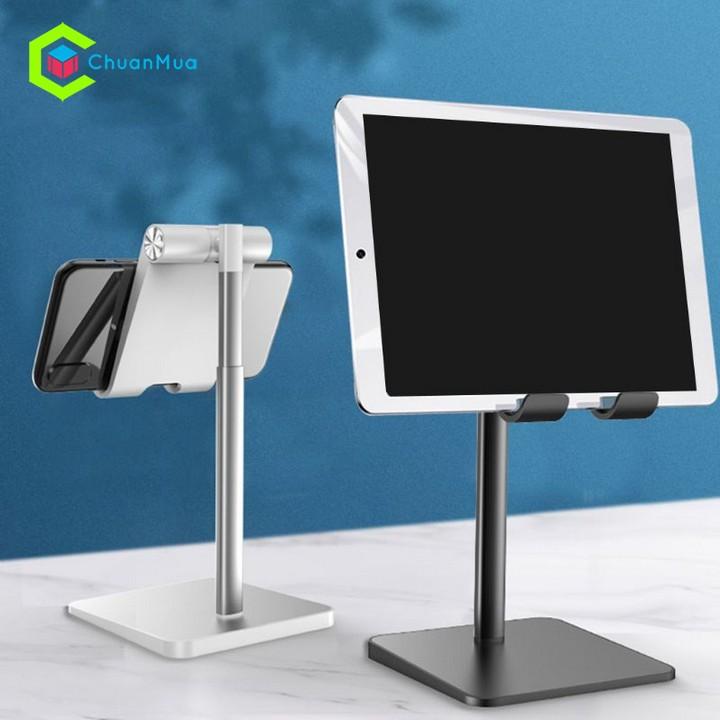 Giá đỡ điện thoại, iPad máy tính bảng có thể điều chỉnh độ cao thấp khi xem phim gọn gàn tiện lợi