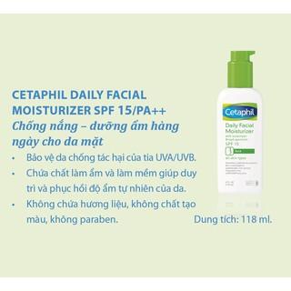 Hình ảnh Chống nắng dưỡng ẩm hàng ngày cho da mặt Cetaphil Daily Facial Moisturizer 118ml SPF15/ PA++-2