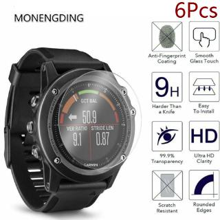 6Pcs Garmin Forerunner  945 935 735xt 735 645 630 620 for  Screen Protector Protective Glass Film Cover Watch Face