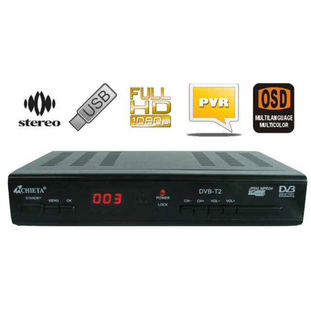 [SALE 10%] Đầu thu kỹ thuật số mặt đất DVB T2