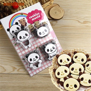 Wavn Panda Cookies Mould Sandwich Cutter Biscuit Bread Cakes Mold Pastry Sugarcraft Cathy
