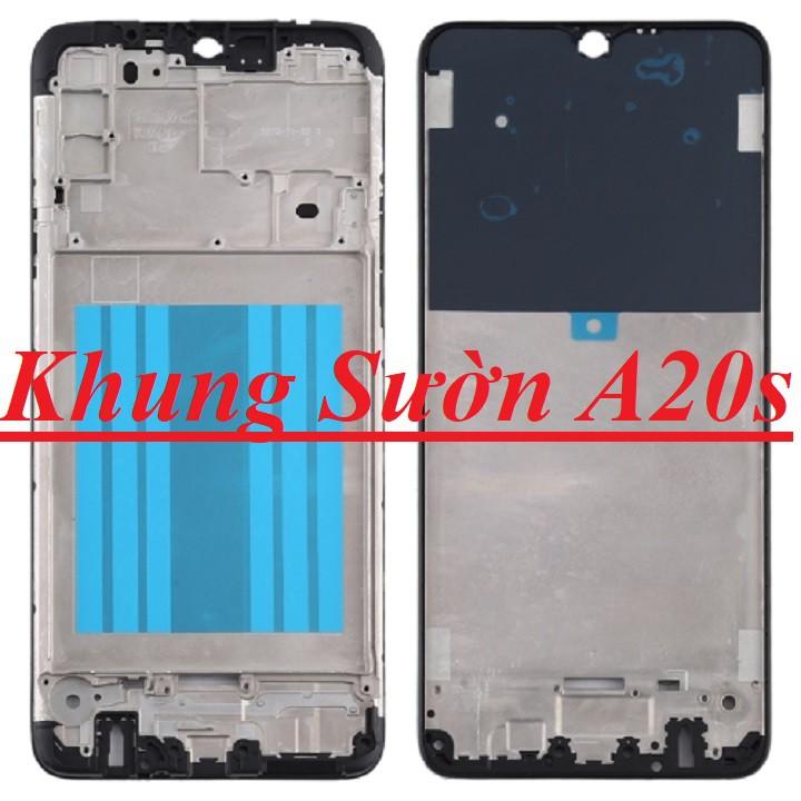 Khung Sườn A20s  Bezel Vỉ Chứa Màn hình Zin Samsung A20s Zin New Chính Hãng