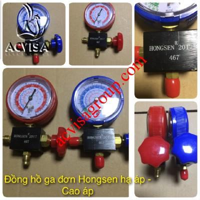 Đồng hồ đơn Hongsen hạ áp hoặc cao áp