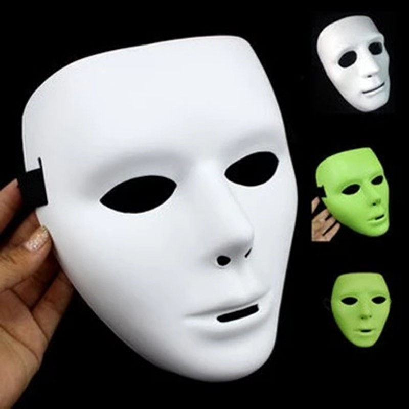▩♟Mask cosplay wigs for men and women ghost skulls hand-painted DIY terrorist trill scary clown makeup items