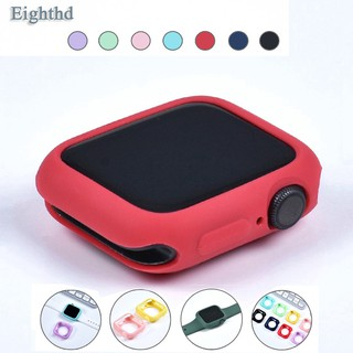 Apple Watch 4 5 SE 6 40MM 44MM Candy Soft Silicone iWatch 3 2 1 42MM 38MM Cover Protection Case thumbnail