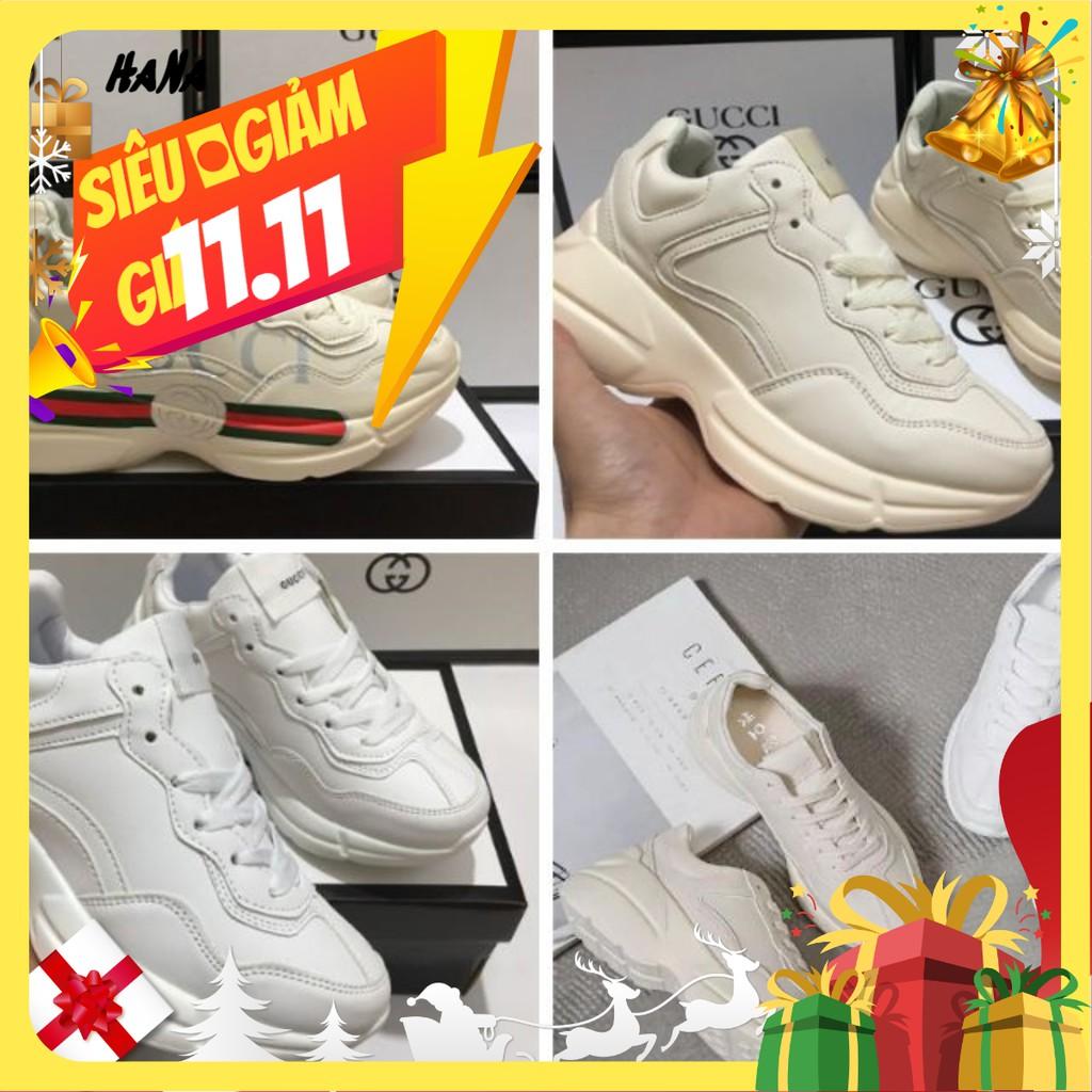 (FREE SHIP + ẢNH THẬT) giầy thể thao tăng chiều cao chuky Gucci full size - GIẦY HANA