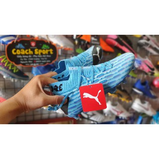 Giày bóng đá Puma Future FG màu xanh dương
