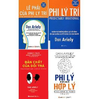 Combo Sách - 4 Cuốn Tâm Lý Học Của Tác Giả Dan Ariely