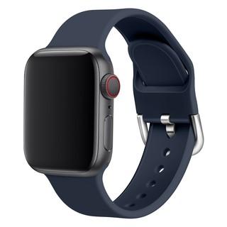 Dây Đeo Silicon Khóa Chữ D Cho Đồng Hồ Thông Minh Apple Watch 1 / 2 / 3 / 4