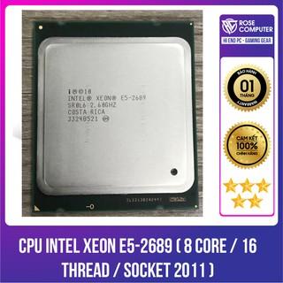 CPU INTEL XEON E5-2689 ( 8 Core 16 Thread Socket 2011 ) thumbnail