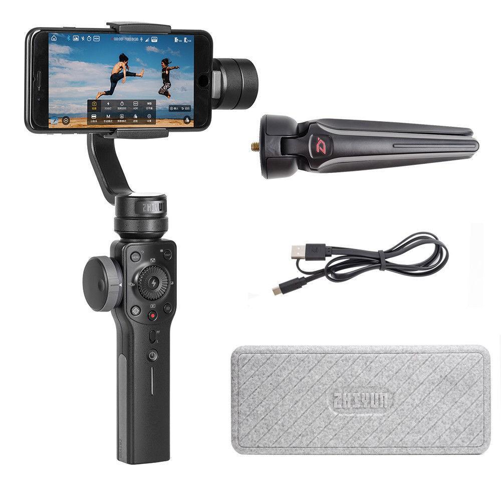 [Mã ELMALL5 giảm 5% đơn 499K] Gimbal chống rung quay phim Smooth 4 cho Smartphone của hàng Zhiyun