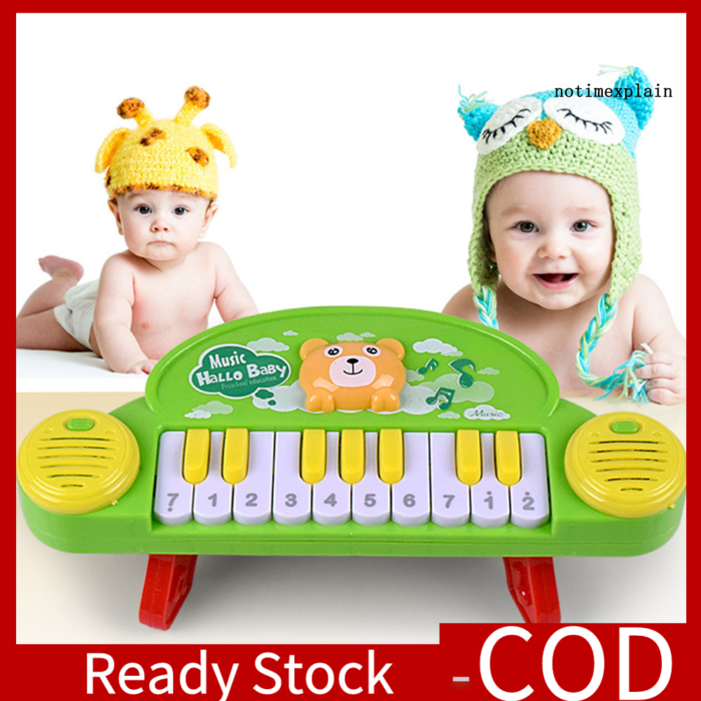 [Ready~] Baby Musical Educational Toy Cartoon Electric Piano Early Learning Kids Gift