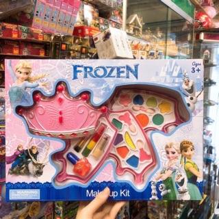 Nhiều mẫu 🌸🌸 Set Make up trang điểm nhiều ngăn phiên bản Frozen – Elsa Anna 🌸🌸