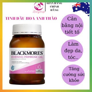(MẪU MỚI) TINH DẦU HOA ANH THẢO BLACKMORES EVENING PRIMROSE OIL
