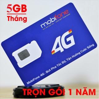 Sim 4G trọn gói 12 tháng