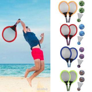 Funny Training Portable Outdoor Sports Kids Gift Beach Toy Badminton Ball Tennis Racket Set