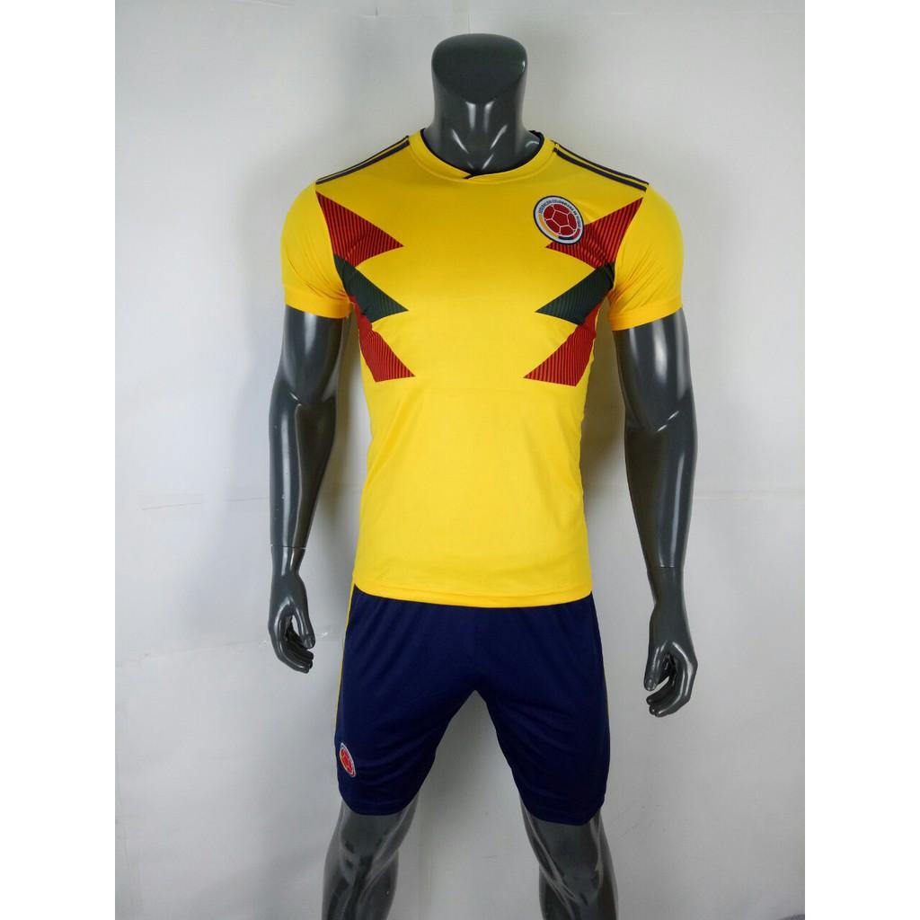 Bộ Đồ Đá Banh Đội Tuyển Colombia màu vàng Worcup 2018 - 3022753 , 1107142127 , 322_1107142127 , 150000 , Bo-Do-Da-Banh-Doi-Tuyen-Colombia-mau-vang-Worcup-2018-322_1107142127 , shopee.vn , Bộ Đồ Đá Banh Đội Tuyển Colombia màu vàng Worcup 2018
