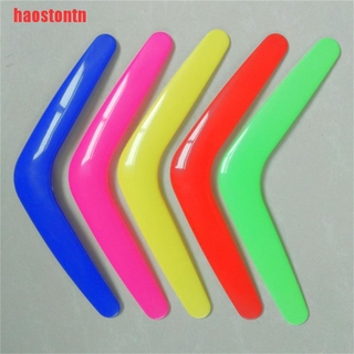 [haostontn]V Shaped Boomerang Toy Kids Throw Catch Outdoor Game Plastic Toy