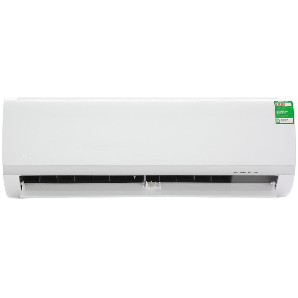 MIỄN PHÍ CÔNG LẮP ĐẶT - Máy lạnh Midea 1.5 HP MSAF-13CRN8 - Công suất làm lạnh 12.000 BTU, Chế độ làm lạnh nhanh Turbo