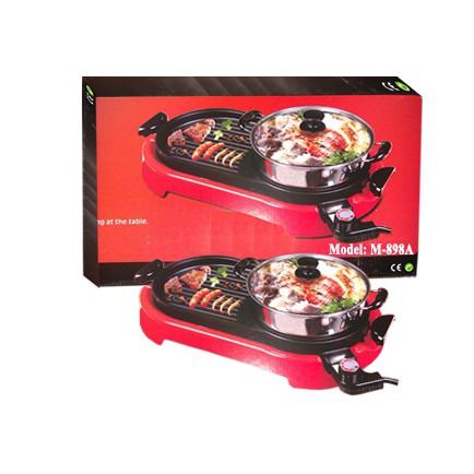bếp lẩu nướng điện ELECTRIC GRILL