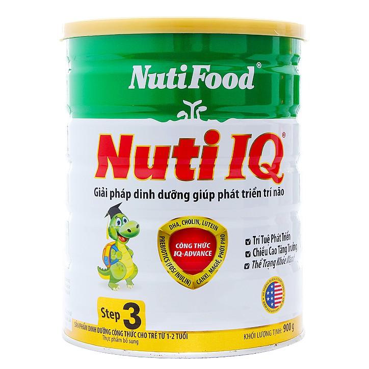 Sữa bột Nuti IQ 3 900g (1 - 2 tuổi)