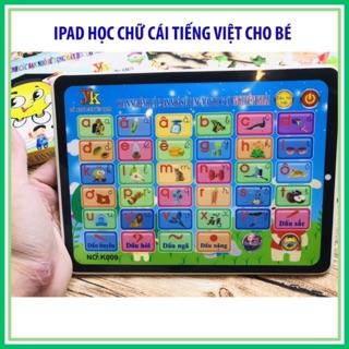 [SỈ/LẺ] Bảng điện tử thông minh, bảng chữ cái cho bé học chữ cái tiếng Việt hình IPAD có tiếng nói phát âm