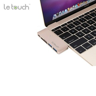 HUB LE TOUCH USB-C COMBO 5 IN 1 CHO MAC thumbnail