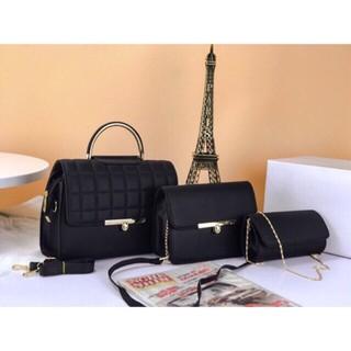 Túi xách nữ giá rẻ bộ 3 túi xách nữ giá rẻ đẹp túi xách nữ giá rẻ đẹp cá tính túi xách nữ thời trang XOAY01 siêu hot
