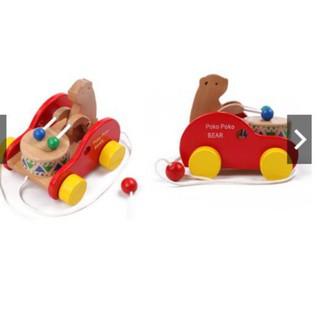 Gấu đánh trống kéo xe