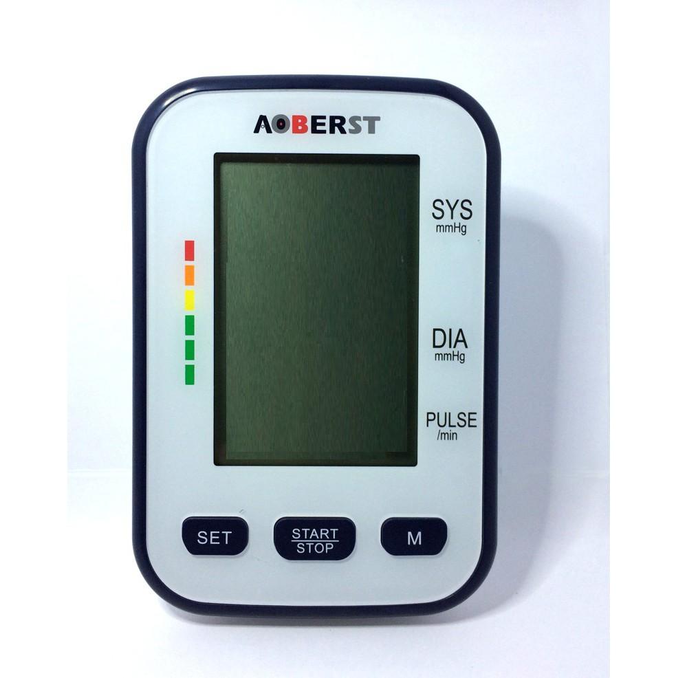 Máy đo huyết áp bắp tay AOBERST công nghệ Đức màn hình LCD lớn( hàng nhập  khẩu) | Shopee Việt Nam