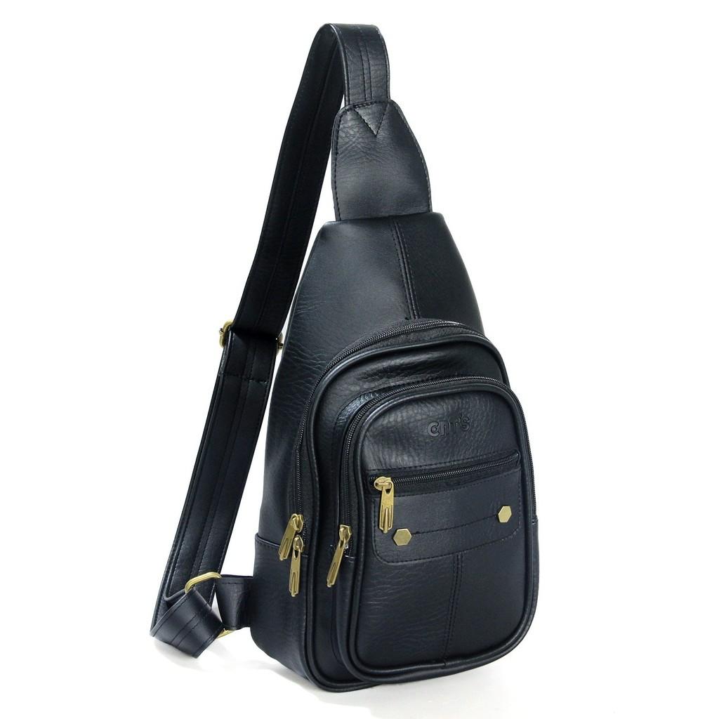 Túi da đeo chéo CNT unisex MQ11 nhiều màu phong cách hàn quốc