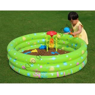Nhà bóng tròn 3 tầng (Chọn Kích thước) Tặng 50 bóng nhựa Hồ bơi Phao bơi Nhà banh Bể bơi sỉ lẻ số 1